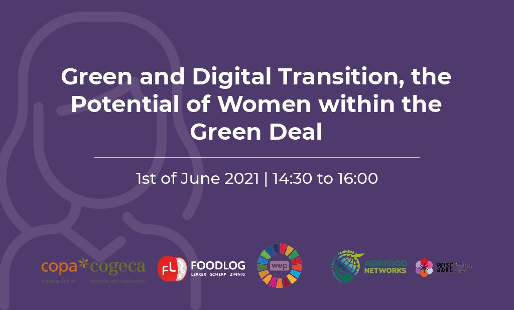 Green and digital transition, the potential of women within the Green Deal
