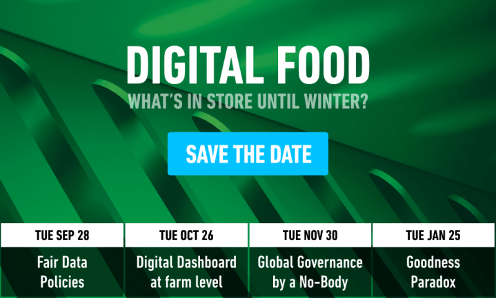 Digital Food: What's In Store for Autumn and Winter?