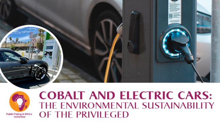 Electric cars and cobalt mining: The environmental sustainability of the privileged